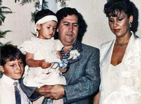 Manuela Escobar Family