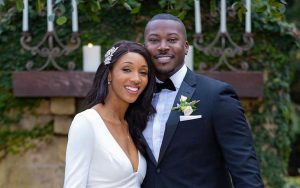 Maria Taylor and her second husband Jon