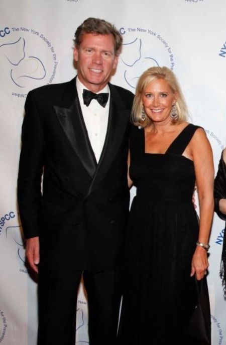 Mary Joan Hansen And Her Husband Chris Hansen At New York Gala