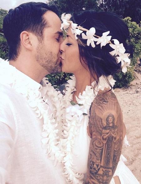Sara Matter wedding with Niall.