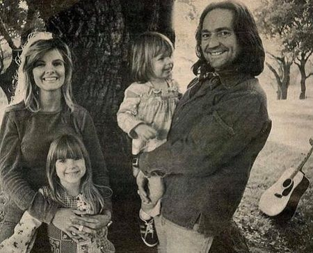 Paula with her family.