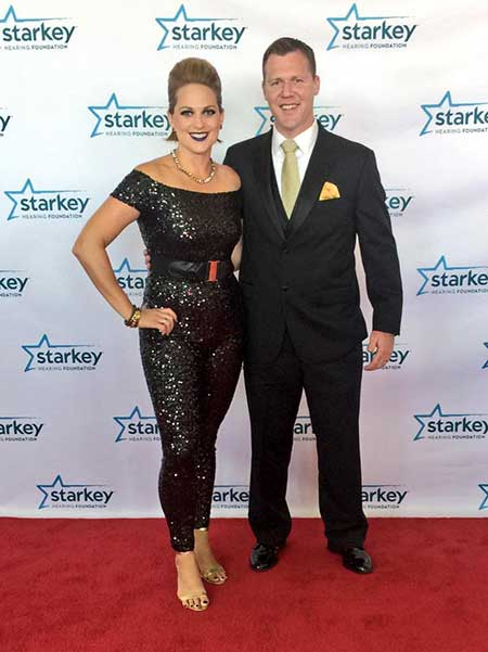 Jamie Yuccas and her ex-husband John Sheehan