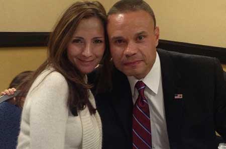 Paula Andrea Bongino and spouse Dan Bongino