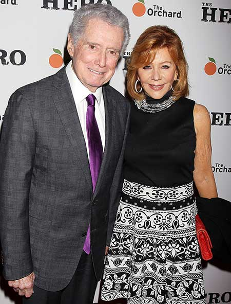Regis and his second wife Joy