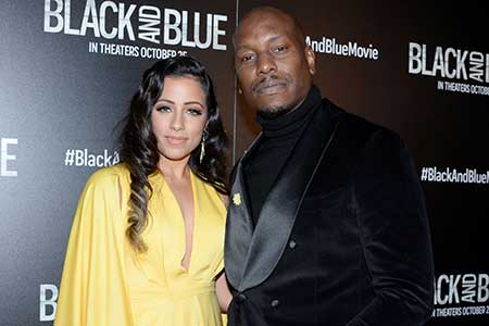 Tyrese Gibson and his ex-wife Samantha Gibson