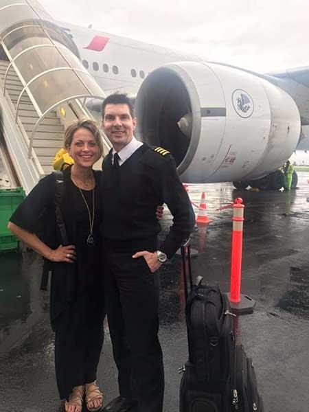 Jamie Yuccas and her ex-boyfriend Bobby