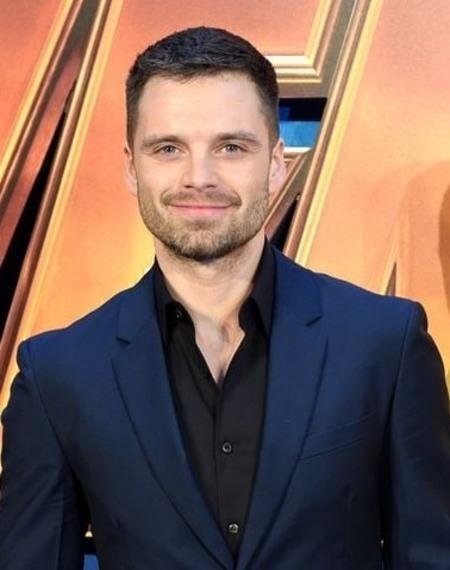 Georgeta Orlovschi's son, Sebastian Stan