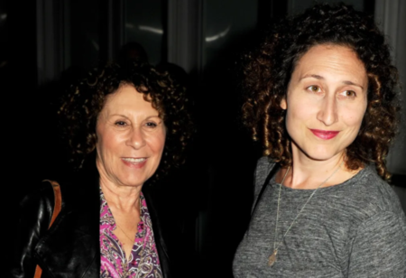 """Rhea Perlman (L) and her daughter Grace Fan DeVito arrive at the screening of XLrator Media's """"CBGB"""" at the Arclight Theatre on October 1, 2013, in Los Angeles, California. 