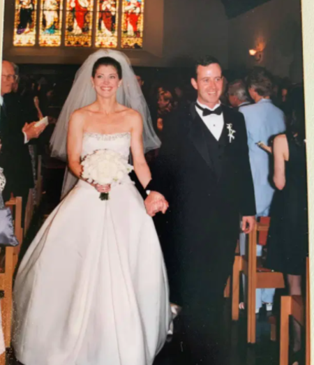 Geoff Tracy married Norah O'Donell in 2001
