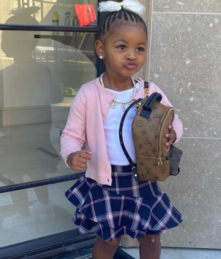 Kulture Kiara Cephus is the daughter of Cardi B and her husband, Offset