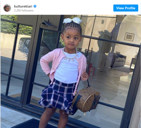 Cardi B and Offset's daughter, Kulture Kiara Cephus is an Instagram star