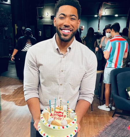 Kevin Mimms (Miles) celebrating his birthday