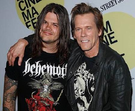 What does Kevin Bacon's Son Travis Bacon do?