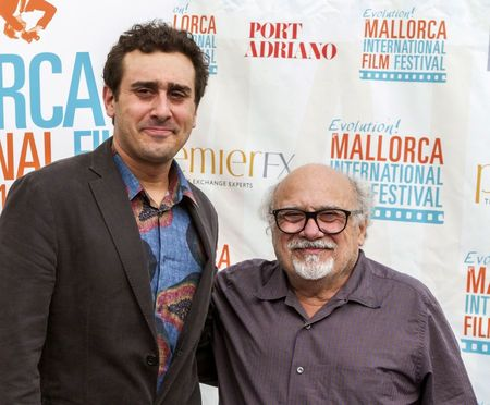 Mandatory Credit: Photo by Cati Cladera/EPA/Shutterstock (8462591a) Us Actor Danny Devito Poses Next to His Son Jack Devito (l) During an Interview with Spanish Press Agency Agencia Efe in the Sidelines of 'Evolution! Mallorca International Film Festival' in Palma De Mallorca Balearic Islands Spain 04 November 2016 the Festival Runs From 03 to 12 November Spain Palma De Mallorca Spain Cinema - Nov 2016 US actor Danny DeVito poses next to his son Jack DeVito (L) during an interview with Spanish Press Agency Agencia EFE, in the sidelines of 'Evolution! Mallorca International Film Festival', in Palma de Mallorca, Balearic Islands, Spain, 04 November 2016. The festival runs from 03 to 12 November.