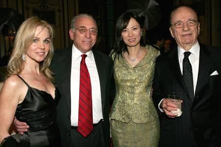 Claudia Heffner Peltz with her husband, Nelson Peltz and