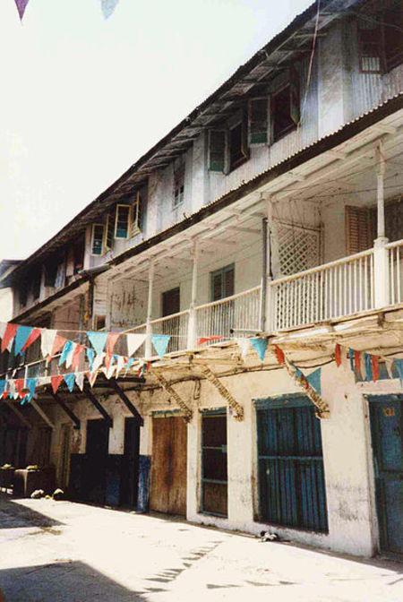 Kshmira Bulsara's ancestral home in Zanzibaar