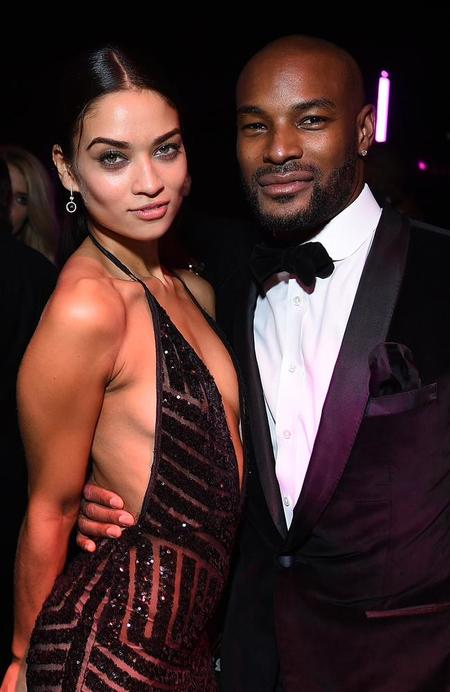 Berniece Julien's ex, Tyson Beckford was famously in a relationship with Australian model, Shanina Shaik
