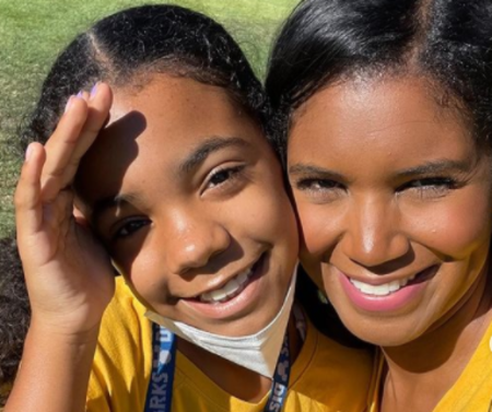 Denise Boutte with her daughter, Jordan