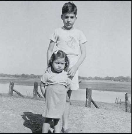Kashmira Bulsara with her Brother, Freddie Mercury