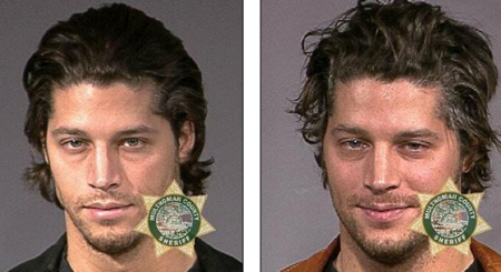 (Left) Skylar's father arrested for DUI. (right) Skylar's father arrested for probation violence