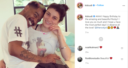 Kid Cudi is believed to be dating designer,