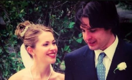 Danny Dorosh And His Wife Pascale Hutton On The Wedding Day