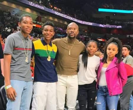 Floyd Mayweather Children adopted
