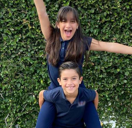 Gia and her brother