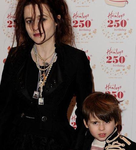 Helena Bonham Carter and Tim Burton's son, Billy Raymond Burton