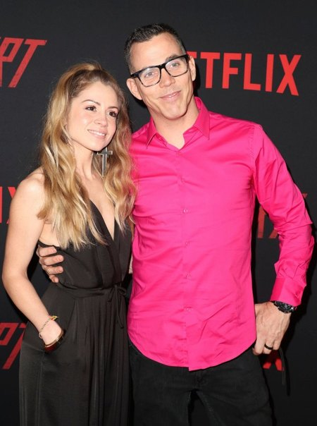 Lux Wright and Steve-O got engaged in January 2018