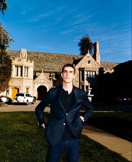 Marston Hefner Grew Up In The Playboy Mansion