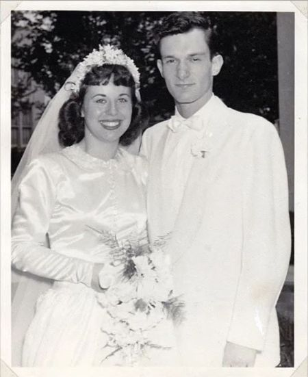 Millie Williams And Hugh Hefner On the Day Of Their Wedding