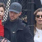 Justin Timberlake and Jessica Biel's son Silas Randall Timberlake