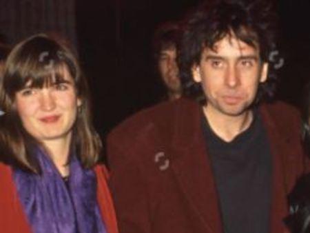 Tim Burton with his first wife, Lena Gieseke