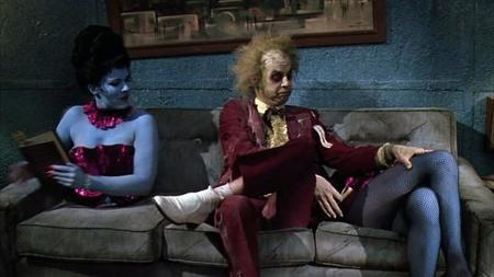 Tim Burton's ex-wife, Lena Gieseke allegedly appeared in the director's 1988 film, Beetlejuice