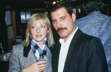 Mary Austin and late Queen frontman Freddie Mercury