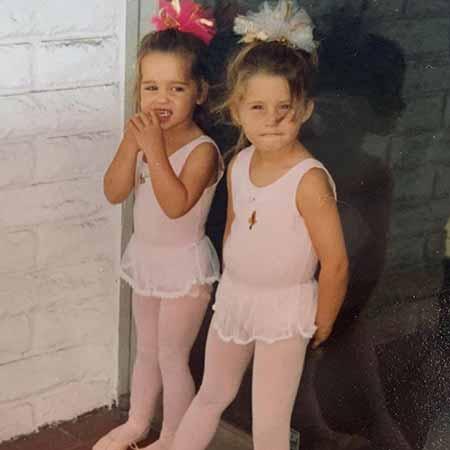 Christina Schwarzenegger and her sister Katherine