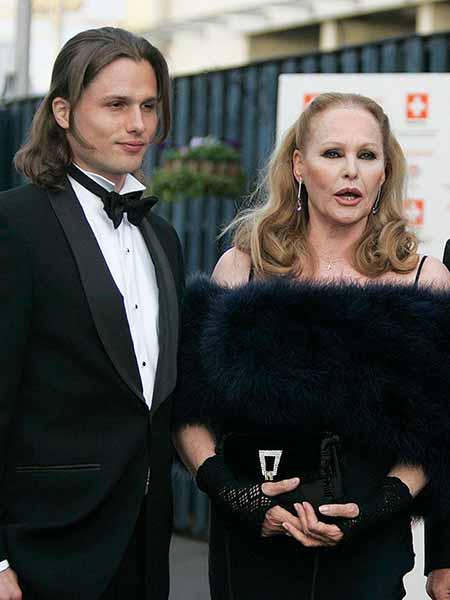 Dimitri Hamlin and his mother Ursula Andress