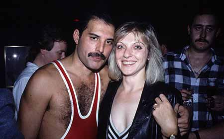 Mary Austin remained by Mercury's side until his death despite their break up