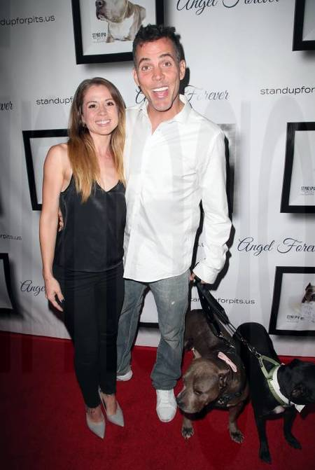 Lux Wright and her Fiance, Steve-O are planning to open an animal sanctuary