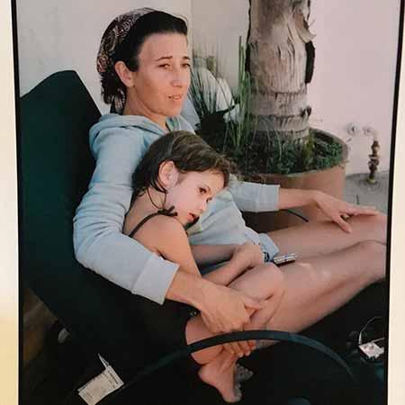 Vanessa Vadim and her daughter Viva