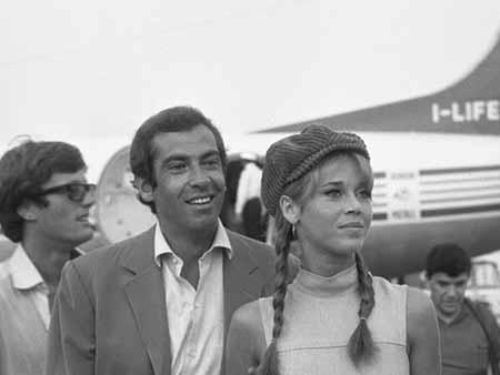 Vanessa's parents Jane Fonda and Roger Vadim