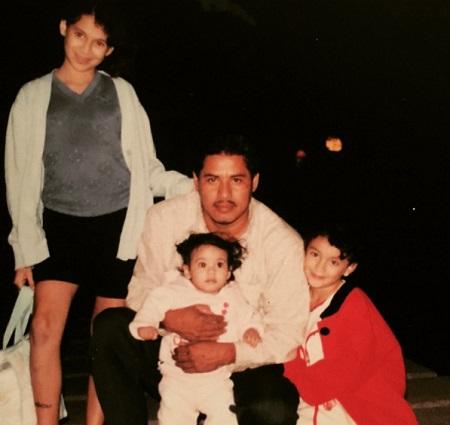 Carla Medrano family