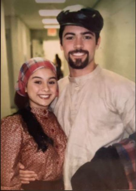 Lilly Pino, the wife of actor, Danny Pino of CBS Cold Case did a theater with her husband when they both were in college